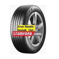 """CONTINENTAL EcoContact 6 15"""" 16"""" Tyres 185/60R15 195/55R15 205/65R15 195/60R15 185/55R16 205/55R16 215/55R16"""
