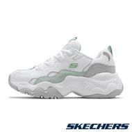 Skechers D'lites 3.0 韓版 女款 白綠 白粉 運動 休閒 舒適 老爹鞋 88888210wmnt