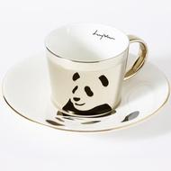 Luycho 韓國 鏡面倒影杯 咖啡杯 _ 熊貓