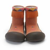 韓國 Attipas 快樂腳襪型學步鞋-印地安酋長