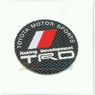 預定款>>>TOYOTA豐田TRD輪胎蓋中心蓋貼標 格紋款ALTIS VIOS CAMRY 86 YARIS WISH