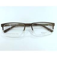 尼康/Nikon半框鈦金屬眼鏡架  超輕商務眼鏡 適合瘦臉人士近視鏡框