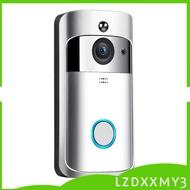 HOT Wifi Video Doorbell-HD 1080P IR Camera Video Doorbell Smart Doorbell Ring Black