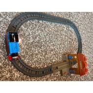 《二手》湯瑪士電動 競速過彎軌道組