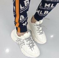 Kumo shoes-MLB洋基NY老爹鞋 男女鞋(白色)