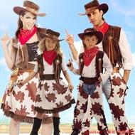 超值新款!萬圣節兒童牛仔服裝 成人西部牛仔服裝 性感男女牛仔服裝牛仔帽槍