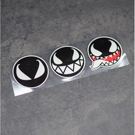Poison Creative Body Reflective Stickers Safety Warning Reflective Stickers