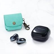 可刻名Samsung Galaxy Buds Live耳機客製皮革保護套 真皮耳機盒