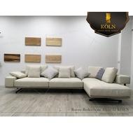 【爵品訂製沙發】MF-SL-28復刻Flexform 設計師款L型布藝沙發、L牛皮沙發、客制化、訂制工廠《專屬客制傢俱》