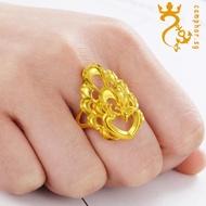 916gold Ring Peacock 916golden Phoenix 916gold Ring Open Phoenix Ring