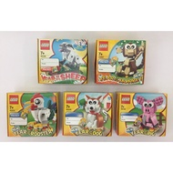 LEGO 40148 40207 40234 40235 40186 羊.𤠣.雞.狗.豬(五款合售)