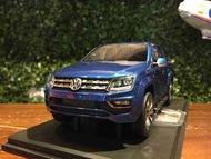 1/18 DNA Volkswagen VW Amarok Adventure Blue DNA000047【MGM】