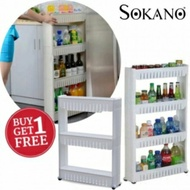 BUY 1 FREE 1- 4Tier Space Saver Kitchen Rack free 1 3Tier Space Saver Rack