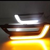 HONDA CRV 5代 雙色LED日行燈 方向燈 晝行燈
