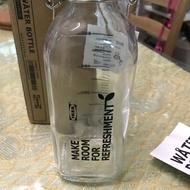 玻璃水瓶(可裝蜂蜜檸檬水)