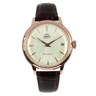 Orient Automatic Analog Women's Brown Leather Strap Watch RA-AC0010S10B