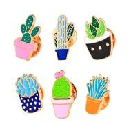 1ชิ้นน่ารักใหม่Cactus Cactusเข็มกลัดดอกไม้ประดับPinsแฟชั่นเครื่องประดับ
