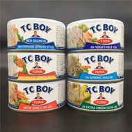 TC BOY Tuna In Spring Water Low Fat little fatty mineral Water canned Tuna In