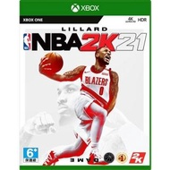 【Microsoft 微軟】XBOX One NBA 2K21 一般版《中文版》