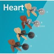 【燈王的店】VENTO芬朵精品吊扇 DC16吋掛壁吊扇 16吋FINO-CHIC系列-大心型 送基本安裝(16FINO-CHIC-HEART)