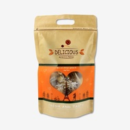 牛皮-半斤手提夾鏈立袋 [共2款] (20入、50入) / 包