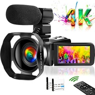 4K Video Camera Camcorder Vlogging Camera for YouTube