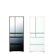 日立621公升(與RG620HJ同款)冰箱XW琉璃白RG620HJXW