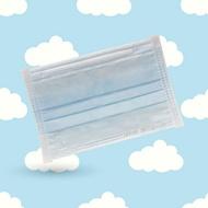 兒童平面型醫用口罩(天空藍)-50入/單片包裝