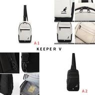 【zz韓國代購🇰🇷】KANGOL Keeper Bag 袋鼠 帆布包 單肩 斜跨包 胸包 前背包