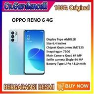 OPPO RENO 6 4G RAM 8/128 GB GARANSI RESMI