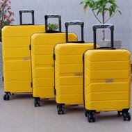 กระเป๋าเดินทาง ล้อลาก กระเป๋าเดินทางไซส์18/20/24/28นิ้ว เนื้อPP