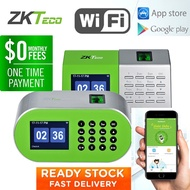 ZKTeco D1/D2 Time Recorder Time Attendance Fingerprint Attendance Machine Time Clock Desktop Biometrics Attendance APP
