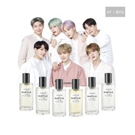 (KPOP) BTS Perfume VT x BTS L atelier (Photocard signed by all BTS members)