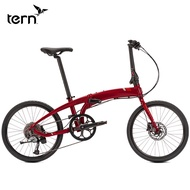TERN Verge D9 variable 9 speed 22 inches folding bicycle aluminum alloy ultra-light portable adult car trunk foldable bike