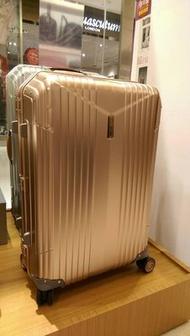 【限量玫瑰金】HARTMANN 7R MASTER鋁鎂合金26吋行李箱,比RIMOWA鈦金更高貴、更悠久的百年頂級行李箱