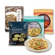 Arumi Korean Pancake 300g - Kimchi Pancake / Seafood Pancake / Spicy Leek Pancake /  Beolgyo Cockle Vegetable Pancake