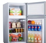 冰箱小冰箱小型家用冷藏冷凍宿舍118/150L節能靜音雙門電冰箱部落 【新年鉅惠】