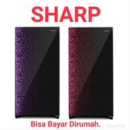 kulkas Sharp 1 Pintu SJX165MGFB