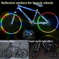 8PCS/Package Reflective Sticker Bicycle Wheel Reflective Sticker