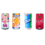 SAKI 清涼脫脂乳飲料/橘子果粒汁/番茄汁/水蜜桃果汁 蝦皮24h 現貨
