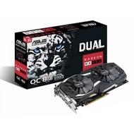 (二手極新) ASUS Radeon RX 580  DUAL-RX580-O8G
