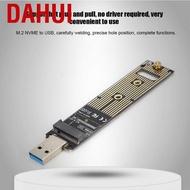 Dahui M.2 NVME SSD轉USB轉接板,ASHATA硬盤轉換器