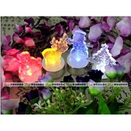【愛團購 iTogo】聖誕節LED蠟燭燈電子蠟燭燈聖誕樹麋鹿雪人聖誕老人(隨機出貨)