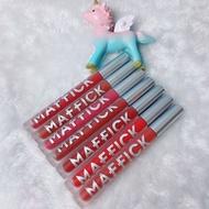 Maffick Velvet Lipstick Light Long Lasting Moisturizing Matte Lip Gloss
