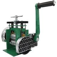 現貨越南壓片機首飾小型手動手搖金銀壓條半圓方條打金工具金屬輾壓機金屬壓片機