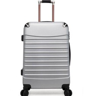 กระเป๋าเดินทาง24นิ้ว ล้อ360องศาลื่นเข็นง่าย วัสดุABS+PCแข็งแรงทนทาน