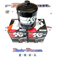 [ Moto Dream 重機部品 ] K&N KN-303 機油芯
