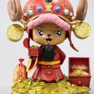 玩具 海賊王喬巴 COS福祿壽 GK 雕像 手辦模型  擺件