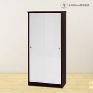 【米朵Miduo】2.7尺拉門塑鋼鞋櫃 防水塑鋼家具