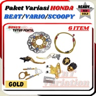 Accessories Variation Matic Honda 6 Items Vario 110-125-150 Old / New Beat New ISS ESP Beat POP Scoopy